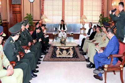 Chinese Military Commander held important meeting with Pakistan PM Imran Khan