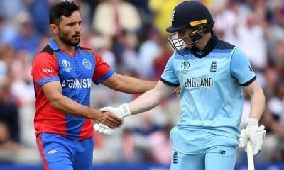 England Skipper Eoin Morgan, Afghanistan Rashid Khan set new World Records in World Cup match