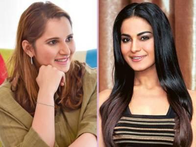Sania Mirza - Veena Malik tweeter spat goes ugly