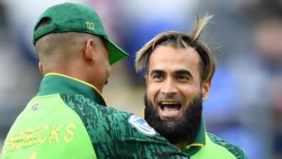 Spinner Imran Tahir on verge of scripting World Cup history