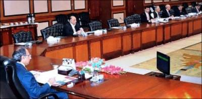 Economic Coordination Committee meets with Finance Advisor in chair