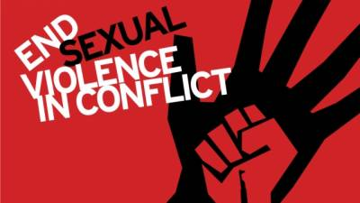 June 19 is Int'l Day for Elimination of Sexual Violence in Conflict