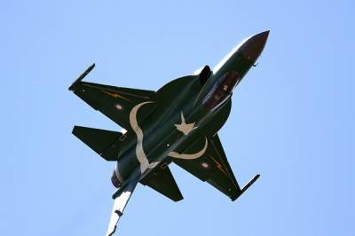 Parisian skies echoed with the thundering sound of PAF JF 17