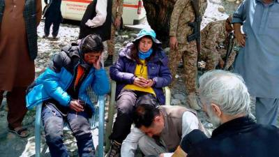Six mountaineers trapped by avalanche rescued in Gilgit-Baltistan