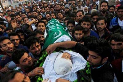 Two more youth martyred in Occupied Kashmir