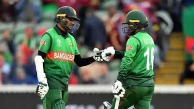 Australia beat Bangladesh by 48 runs at Nottingham tonight