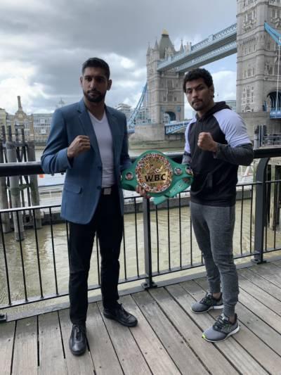 Indian boxer Neeraj Goyat responds to claims of Pakistani origin British boxer Amir Khan