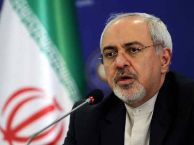 Zarif says US lying about drone being hit over international waters