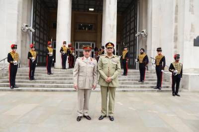 Pakistan and UK Militaries hold strategic dialogue