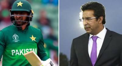 Wasim Akram breaks silence over issue of dropping Shoaib Malik and Pakistan team latest performance