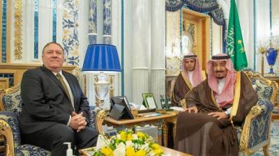 Mike Pompeo holds meeting with Saudi leadership to discuss tension with Iran