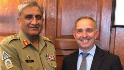 Pakistan Army Chief held important meeting with UK NSA