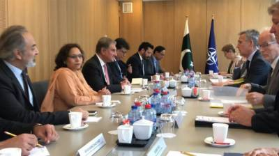 Pakistan's positive role imperative for regional peace: NATO Chief