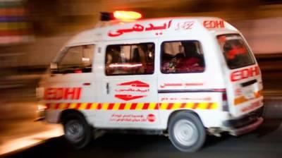 Six killed, 15 injured in Shikarpur road accident