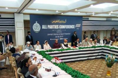 Politics- JUI F Chief Fazal ur Rehman faces a blow in Opposition alliance APC