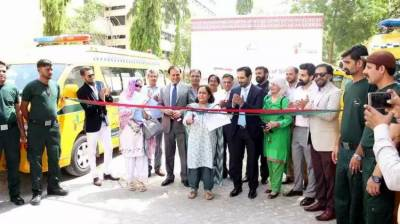 Provincial Govt launches Sindh Rescue and Medical Services in Karachi