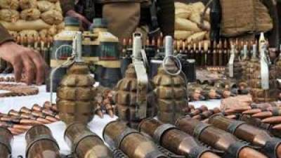 Security forces foiled big terrorism bid, huge cache of arms and ammunition seized