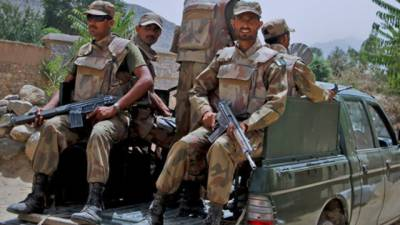 Three terrorists killed in Loralai