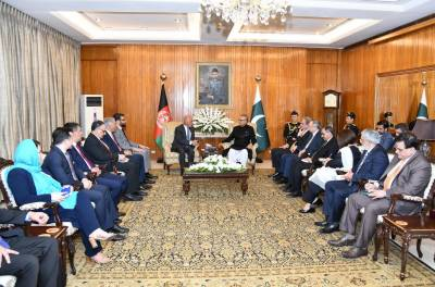President Alvi affirms resolve to forge closer relationship with Afghanistan