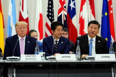 US President Donald Trump expressed hope for productive talks with Chinese counterpart over trade war