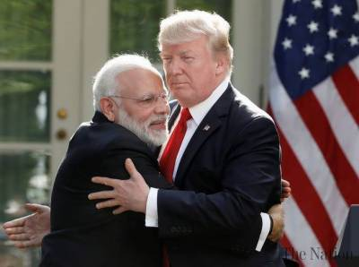 US President Donald Trump hints at a very big deal with India