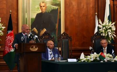 Ghani urges Pakistan to take part in infrastructure development of Afghanistan