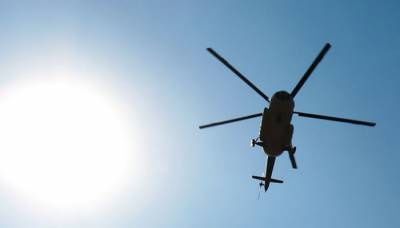 Military Helicopter crashes in Papua with 12 officials onboard