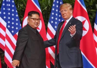 US President Donald Trump met North Korean Kim in DMZ
