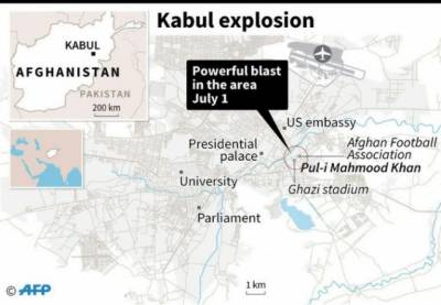 Deadly explosion rocked Kabul, multiple casualties feared
