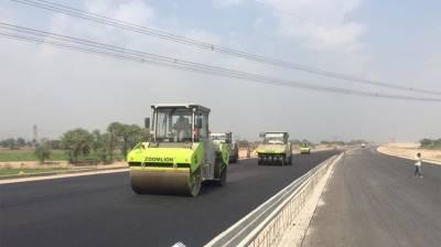 95% construction work of 392km Sukkur-Multan Motorway completed