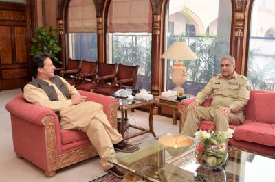 Army Chief calls on PM Imran Khan, discusses security matters