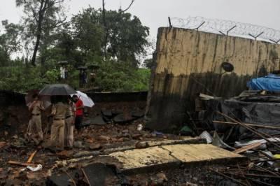 India: Heavy rains in Mumbai cause wall collapse, kills 15