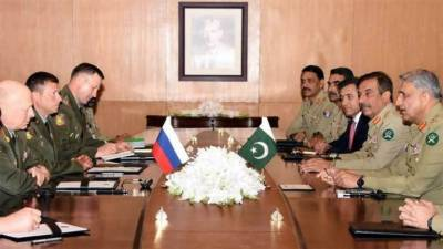 Pakistan and Russia decide to enhance defence cooperation