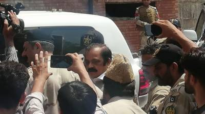 Rana Sanaullah sent to jail on 14-day judicial remand