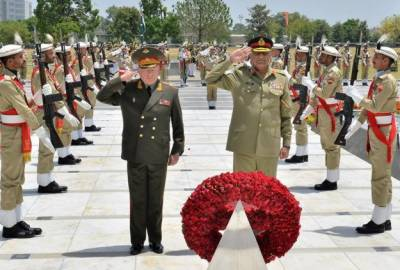Russian Military Chief arrives in Pakistan, held meeting with COAS General Bajwa