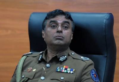 Sri Lankan police chief and former defence commander arrested