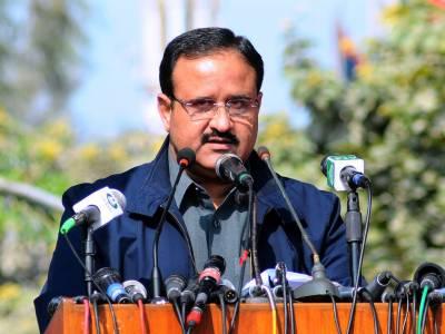 CM Punjab Usman Buzdar orders crackdown across province