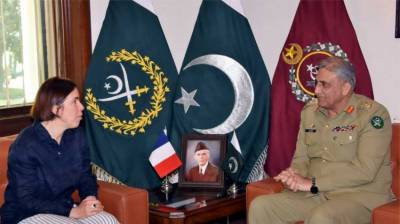 France appreciates Pak Army's role in maintenance of peace