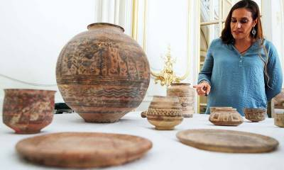France hands over to Pakistan 450 ancient relics dating back to 4,000 BC