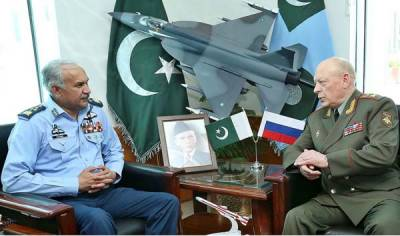 Russian Military Chief expressed desire to enhance defence ties with PAF