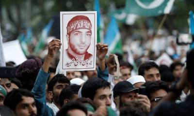 3rd martyrdom anniversary of Burhan Muzaffar Wani being observed today