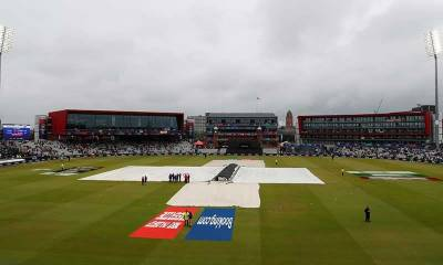 1st semi-final of ICC World Cup against India, New Zealand to resume inning at 211 for five today