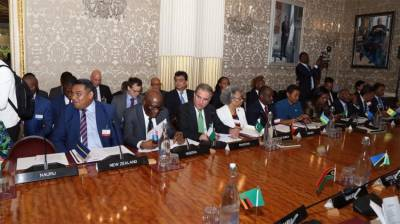 Pakistan FM Shah Mehmood Qureshi makes key address at Common Wealth Foreign Affairs Ministers meeting