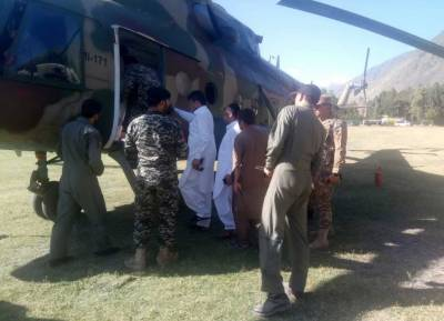 Rescue, relief operation underway in floods-hit areas of Golon, Chitral