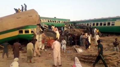 PM Imran Khan responds over deadly train accident in Rahim Yar Khan