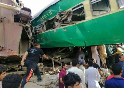 Death toll from the deadly train accident in Rahim Yar Khan rises drastically