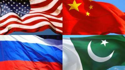 Pakistan, US, Russia, China agree to continue efforts for Afghan peace