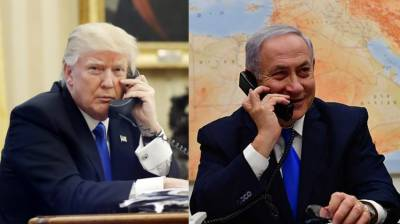 Trump, Netanyahu hold phone call over Iran