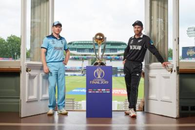 New Zealand win toss and bat against England in Cricket World Cup final