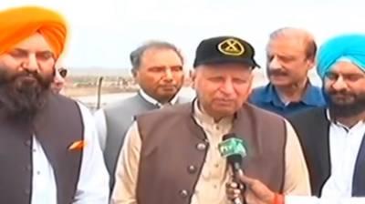 Governor Punjab visits Gurdawara Darbar Sahib Kartarpur Narowal